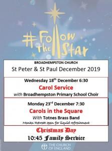 Christmas in Broadhempston 2019