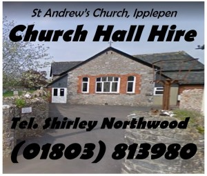 200218 Church Hall Hire Poster