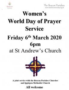 200306 Women's World Day of Prayer Poster