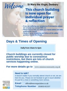 Denbury Open Private Prayer