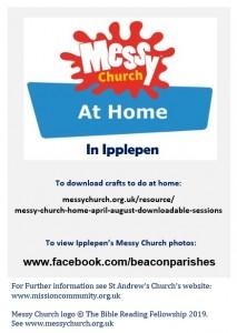 Messy Church at Home June 2020